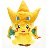 Peluche Pokemon Pikachu Charizard 35 Cm $ 15.000