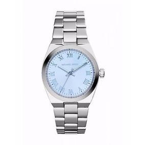 Reloj Michael Kors Mod # Mk5990 Mujer Silvertone Nuevo