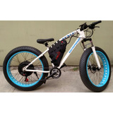 Bicicleta Electrica Fat Quapla Bat Litio 30km 500w