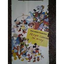 Carnaval De Mickey 2470 Disney Afiche De 1.10 X 0.75
