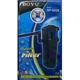 Filtro Interno Boyu Sp602e Para Acuarios Peceras Hasta 100lt