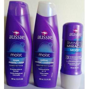 Kit Aussie Mascara 3 Minutos + Shampoo + Condicionador !