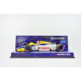 Minichamps 1:43 N Piquet Willimas Fw10 1985 Senna Hamilton