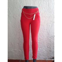 5 Pantalones De Vestir Licra Dama