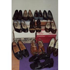 Lote De 07sapatos, 06 Sandalias Y 06cintos Para Mujer