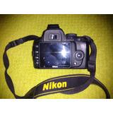 Cámara Nikon D3000 Con Lente 18-55mm Dx Vr 1:3,5 - 5,6 G