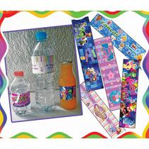 10 Etiquetas Para Botellas De Agua