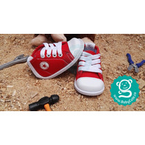 Tenis Rojos Para Bebés- Zapatos No Tuerce