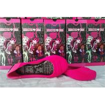 Sapatilha Infantil Monster High Pop College Menin Rosa Pink