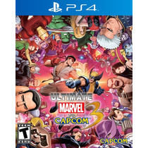 °° Ultimate Marvel Vs. Capcom 3 Para Ps4 °° En Bnkshop