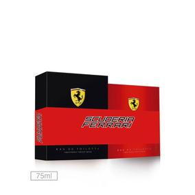 Kit Perfume Scuderia Ferrari Black E Red - 75ml