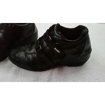 Zapatos Deportivos Con Velcro Para Dama. Talle 36