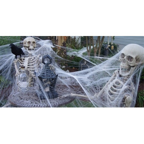 10 Teia De Aranha Decoração Halloween / Festa Homem Aranha