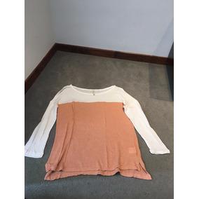 Remera Sweater Manga Larga Marca Clara