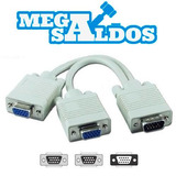 Megasaldos Cable Splitter Vga - 1 Computador 2 Monitores Lcd
