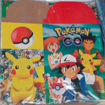 Pokemon Go Cajita Feliz Dulcera 10 Pzas Nintento Picachu