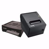 Combo Sat Fiscal Elgin Linker 2 + Impressora Termica I9 Usb