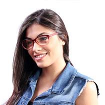 Óculos De Grau Calvin Klein Casual Vermelho