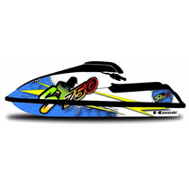 Kit Adesivo Jet Ski Kawaski Sx 750 Personalizado