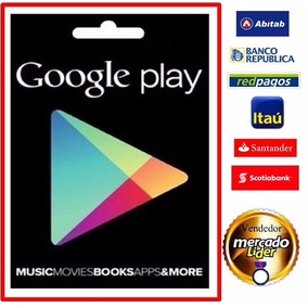 Tarjeta Prepago Google Play Usd 50. (región Usa) +