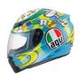 Capacete Agv K-3 Wake Up - Despertador Valentino Rossi