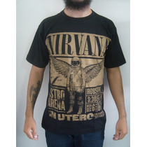 Camiseta Nirvana - Live In Utero