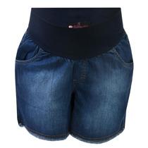 Shorts Gestante - Jeans Carolzinho - Moda Gestante