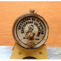 Barril Desde Tequila1 Litro(vacío) A Sólo 139
