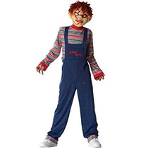 Disfraz Para Niño Chucky Traje - Grande / Extra Grande