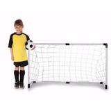 2 Arcos Cancha Para Futbol Armable Balon Malla Deporte Full