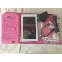 Tablet Tectoy Semi Novo Princesas Tt 2715 Completo Sem Juros