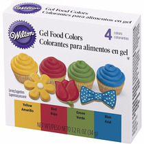 Colorante Comestible En Gel Colores Primarios Wilton