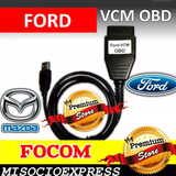 Scanner Ford Mazda Vcm Obd2 Motor Abs Airbag Usb Diagnostico