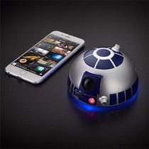 Star Wars Bocina Altavoz R2-d2 Bluetooth Speakerphone Nuevo