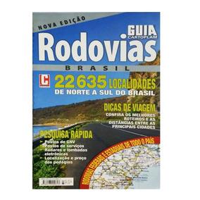 Guia Cartoplam Rodovias Brasil N°4 Norte A Sul Espiral Novo