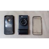 3 Capas Case Iphone 5 E 5s - Maquina Fotográfica + 2 Modelos