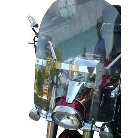 Bolha Parabrisa Moto Custom Cristal E Fume Consulte Modelos
