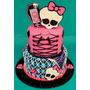 Tortas Decoradas Monster High Mesa Dulce Pedidos Express!