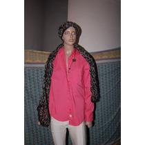 Jazmin Chebar Camisa De Tela Modelo Cora Promo