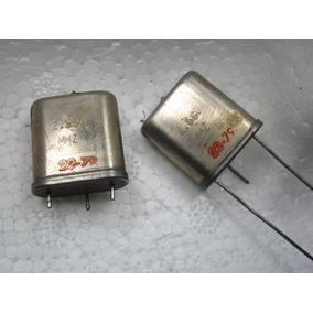 Kit Com 2 Cristal Oscilador 2.560mhz - Transmissor Fm Mta