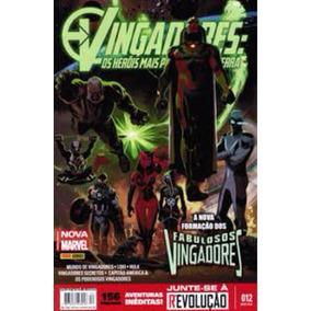Hq Vingadores - Os Heróis Mais Poderosos Da Terra N 12