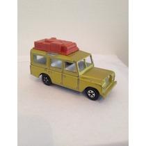 Matchbox Land Rover Safari Lesney Inglaterra Minimos Detalhe