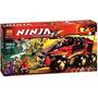 Ninjago Lego Alterno Nave Carro Cobra Moto Ninja Ataque Samu