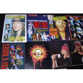 Guns N Roses Memorabilia Revistas Posters Laminas Recortes