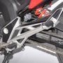 Protetor Fib Quadro Pedaleira Moto Honda Nova Cb 250 Twister