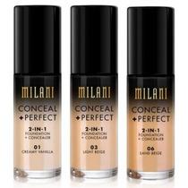 Base Milani Conceal + Perfect 2 In 1 100% Original!
