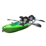 Kayak Rígido Kano Doble + Remos Y Asientos