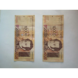 Set Billetes 10000 Bs. (año 2002-seriales C3-d6) C/u