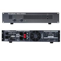 Amplificador De Potencia De 1500 W Phonic Max-2500