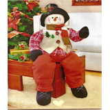 Navidad Patrones De Bellos Muñecos Navideños Gigantes